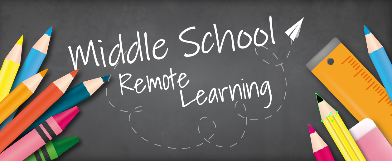 middle school remote learning