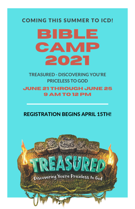 ICD Parish Bible Camp Information Here! Featured Photo