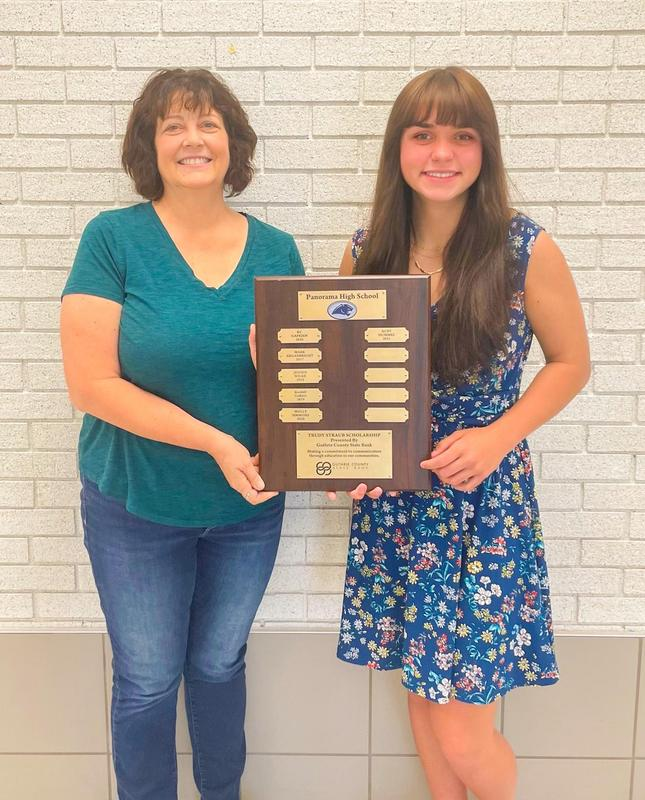 Guthrie County State Bank - Trudy Straub Scholarship Awarded to Ruby Hummel Featured Photo