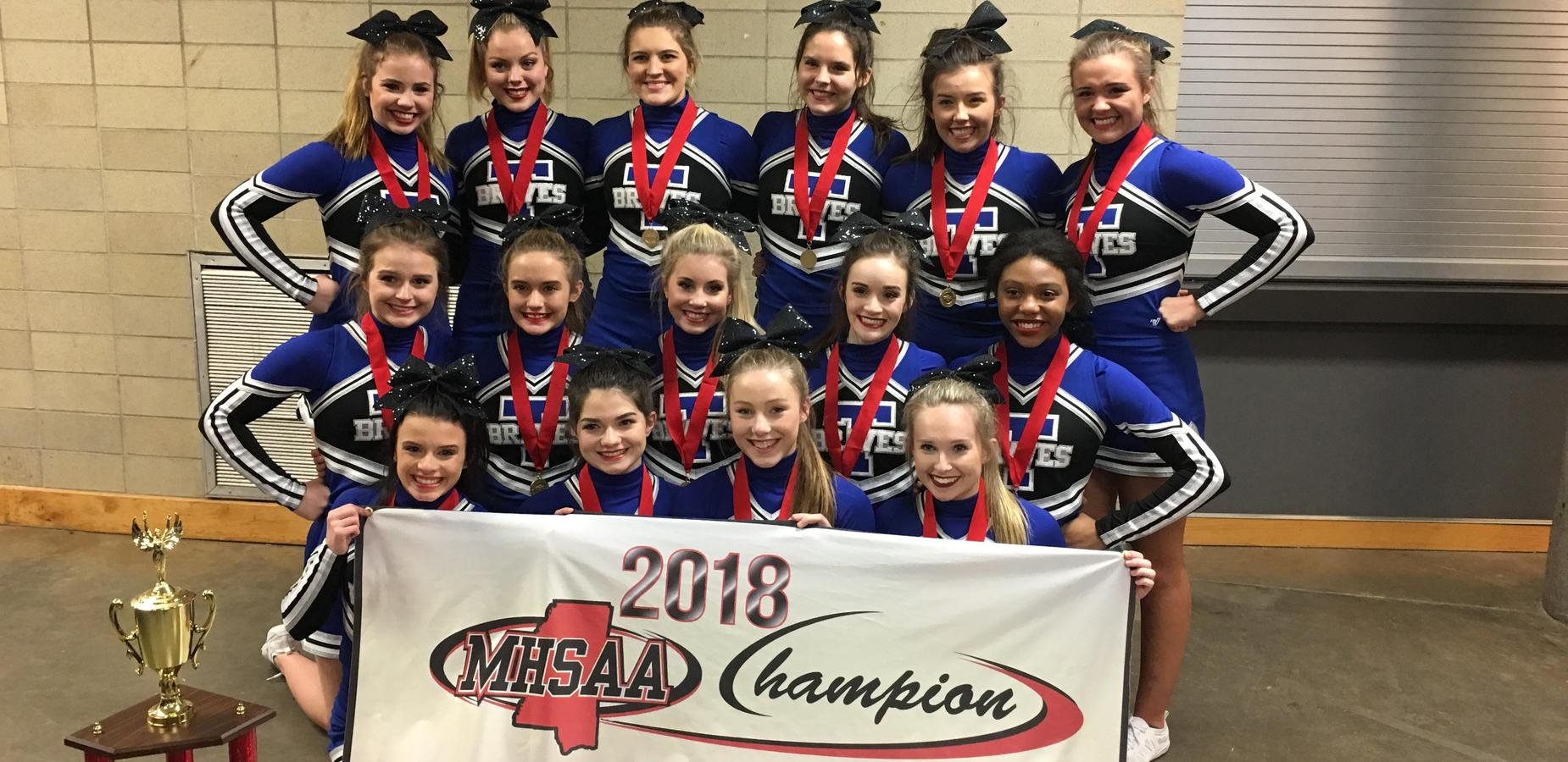 TCHS Cheerleaders Win State!