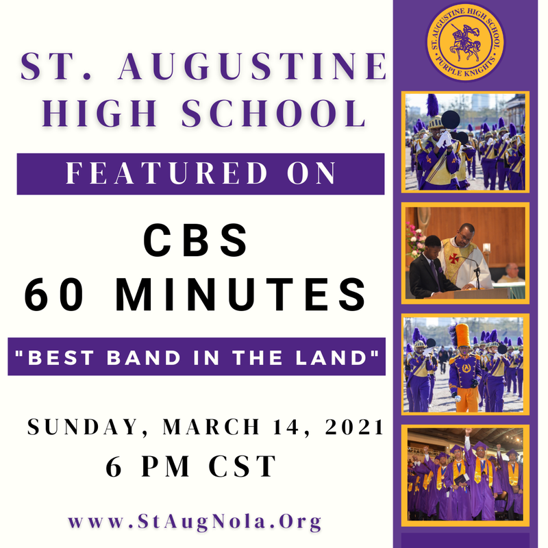 60 Minutes to feature St. Augustine High School Featured Photo