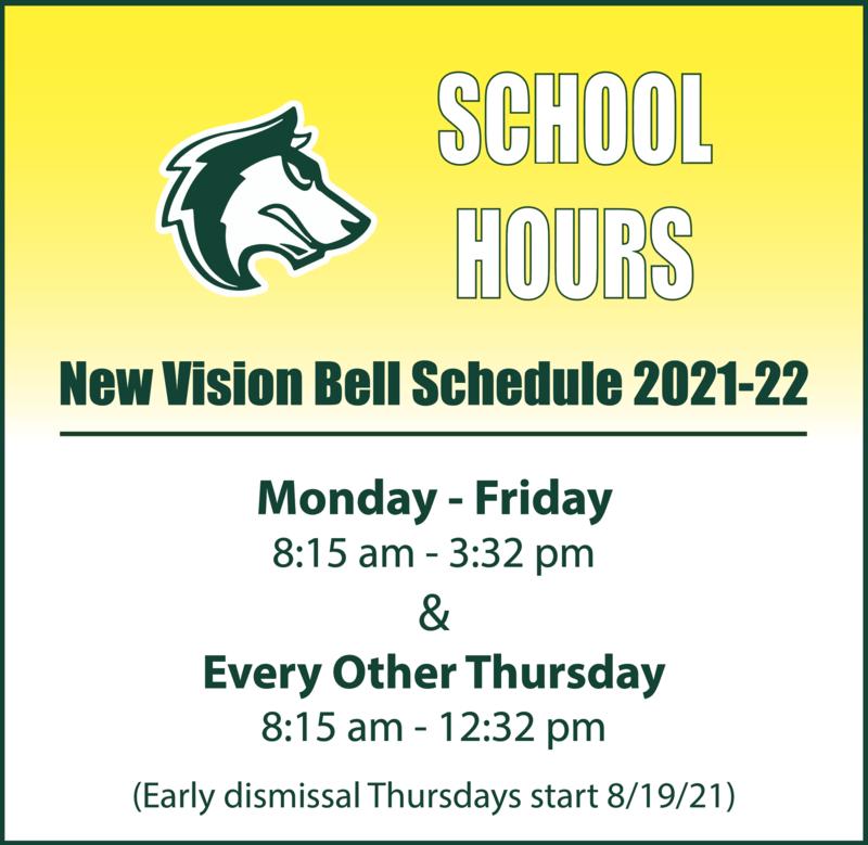 Bell Schedule 2021-22 School Year Featured Photo