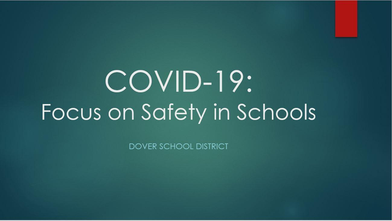 COVID-19 Safety in Schools image
