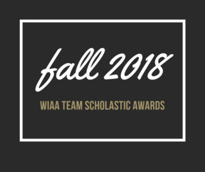 Fall 2018 Academic Awards Logo