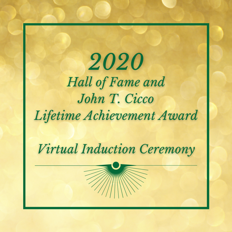 Hall of Fame and John T. Cicco Lifetime Achievement Award thumbnail