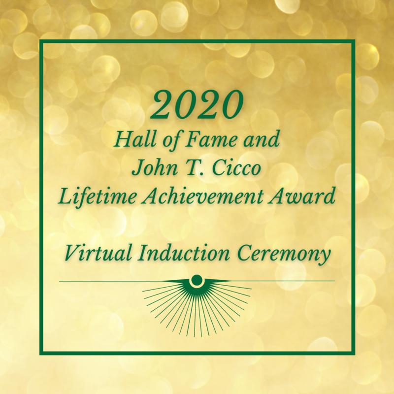 Hall of Fame and John T. Cicco Lifetime Achievement Award thumbnail