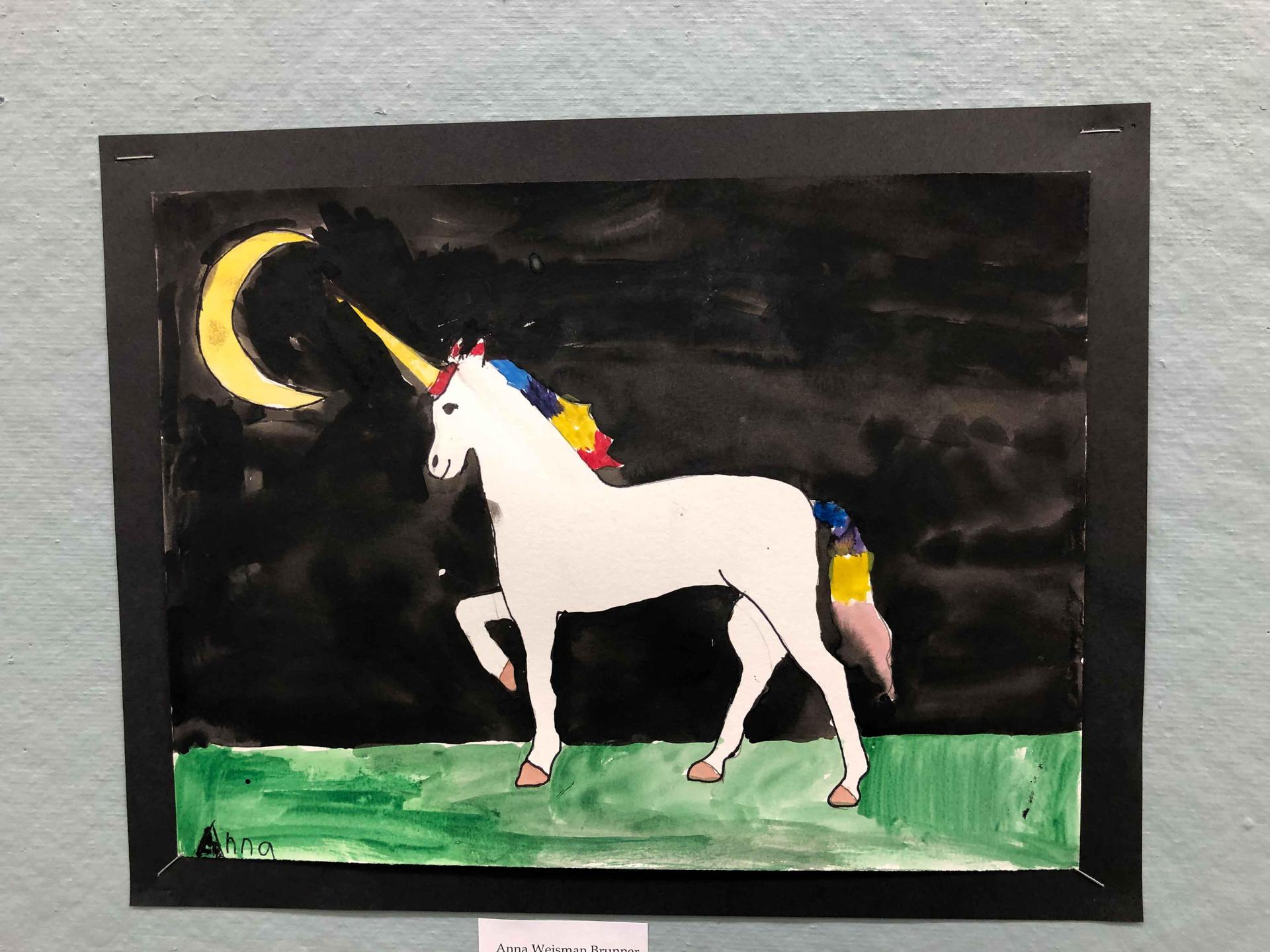 Unicorn painting