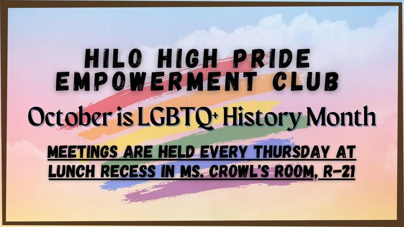 October is LGBTQ+ History Month! Featured Photo