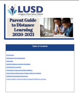 Parent Distance Learning Guide thumbnail