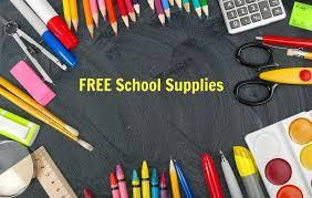 Click this Link for Information on Free School Supplies Featured Photo