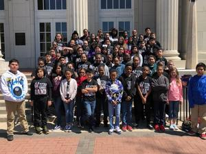 Houston and Port Acres Elem students