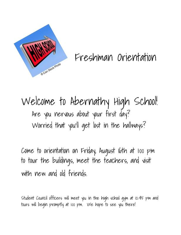 Freshman Orientation Featured Photo