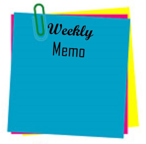 Principal's Weekly Memo November 26 - November 30, 2018 Thumbnail Image