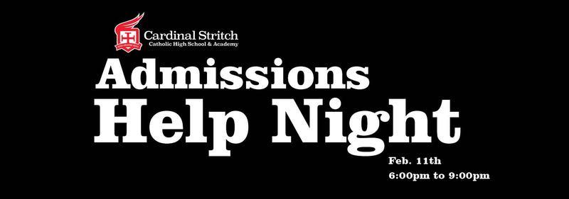 Admissions Help Night