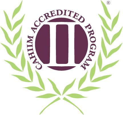 CAHIIM Accredited Logo