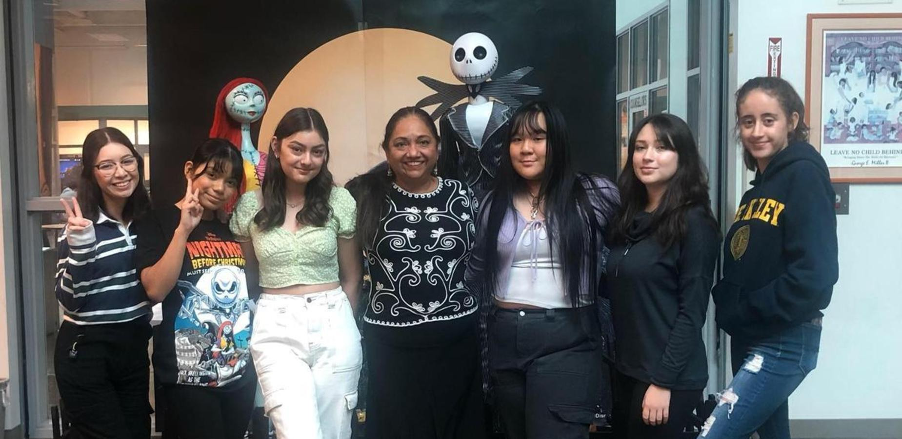 The young women in the picture are 4-year college students. So proud of these resilient young ladies - Lorraine Canales