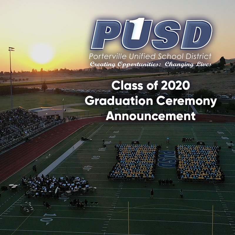 PUSD grad announcement