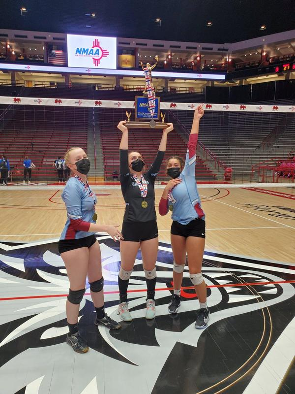 Girls Capture Volleyball State Crown Featured Photo