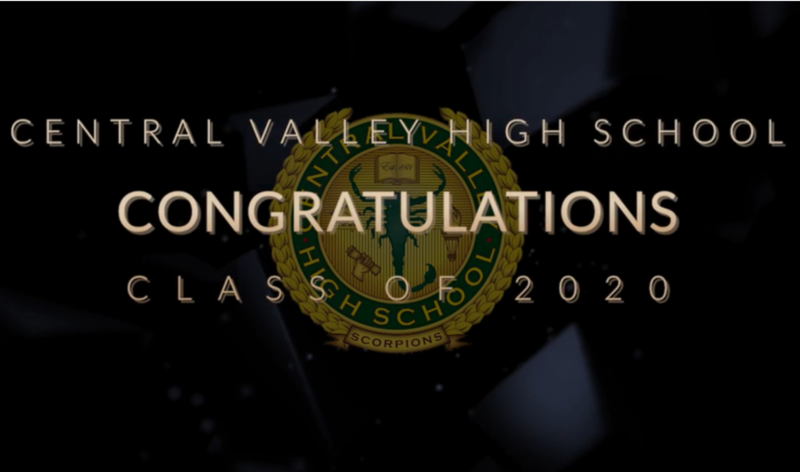 Congratulations to the Central Valley Class of 2020!!! Thumbnail Image