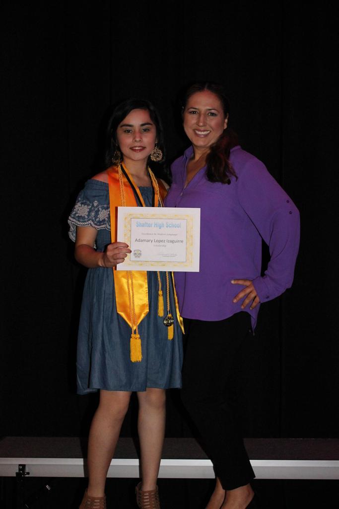 Senior Scholarship Ceremony