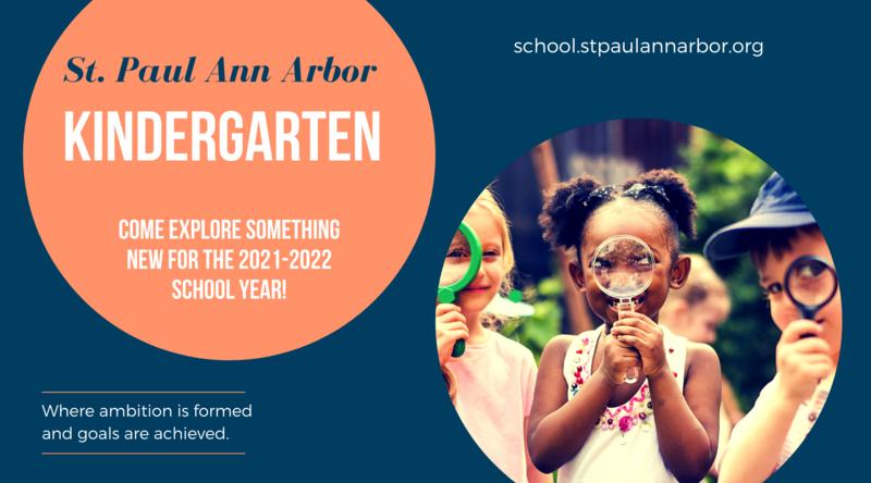 Kindergarten at St. Paul - Open Enrollment Begins February 1 Thumbnail Image