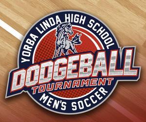 Dodgeball tournament logo
