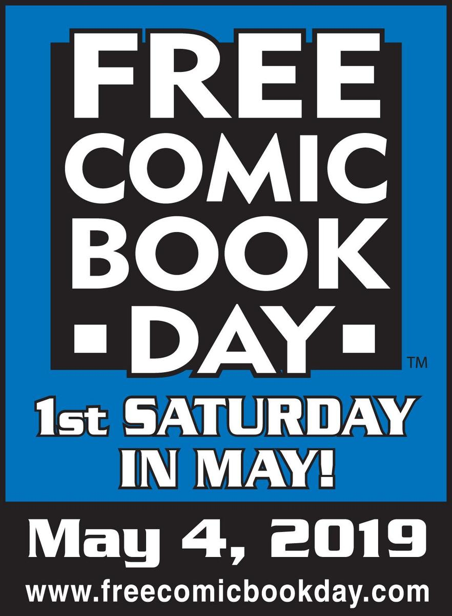 Free Comic Book Day advertisement