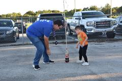 Science experiments, shows and activities make learning science fun during WSISD's 9th annual Mad Scientist Night.