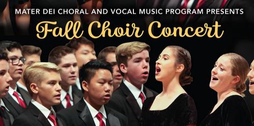 Fall Choir Concert November 1 Featured Photo