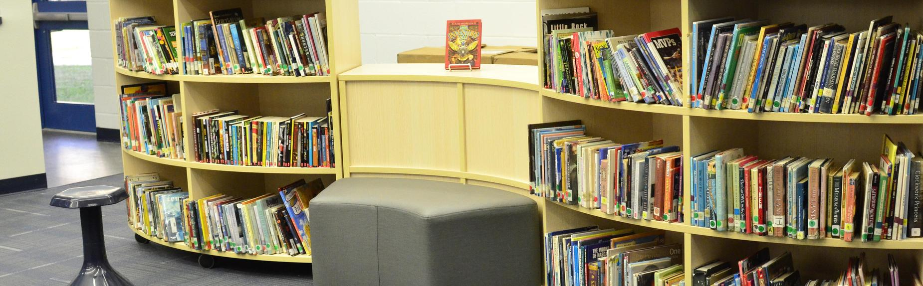 new middle school library