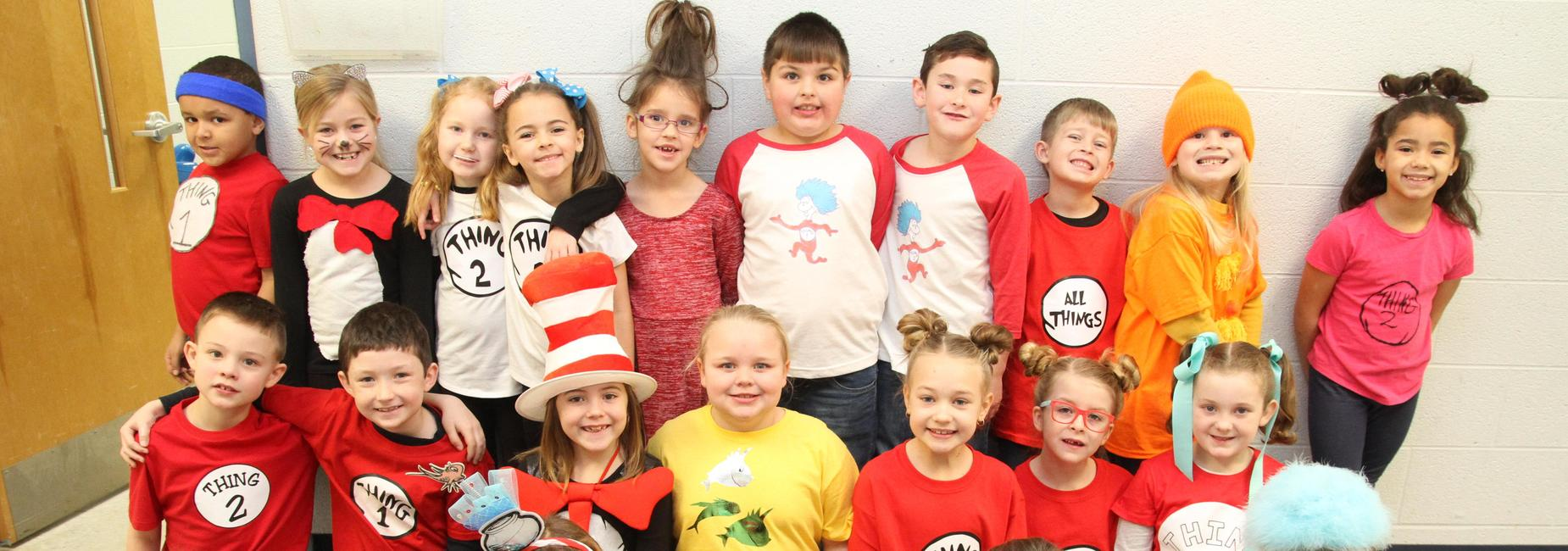 1st Grade Celebrates Dr. Seuss Week