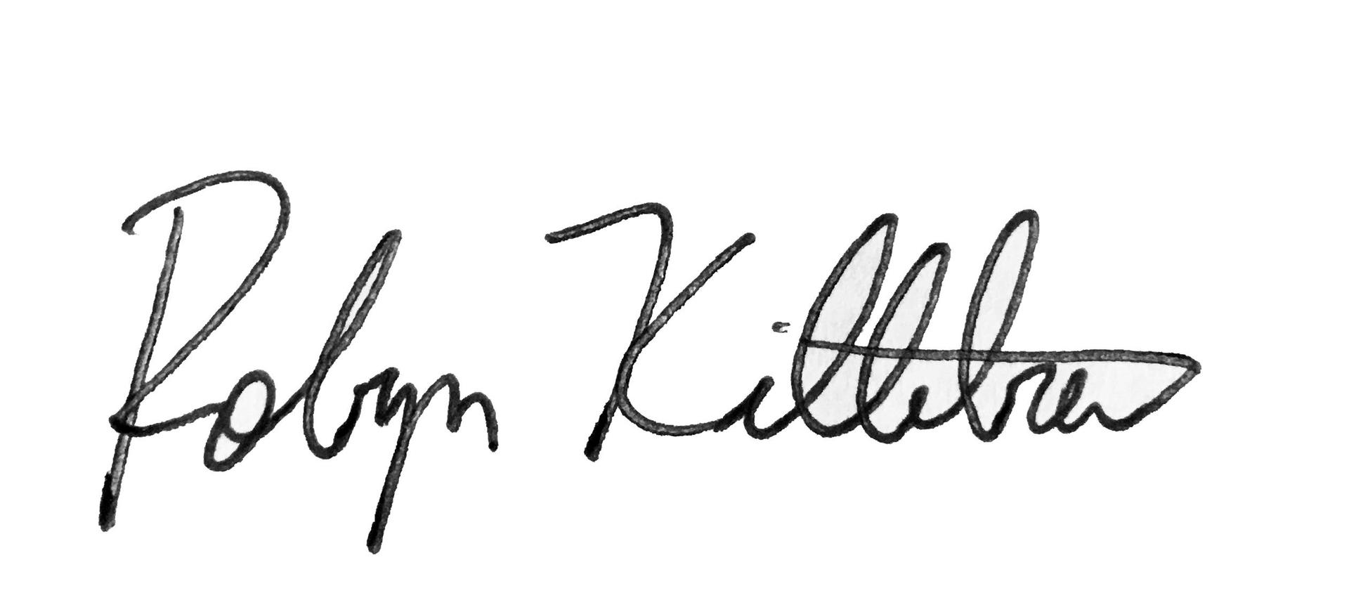 Dr. Killebrew's signature