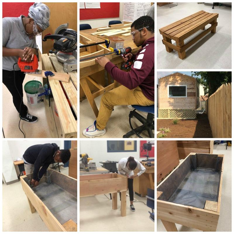 ACAD Interns Craft Benches and Garden Beds Thumbnail Image