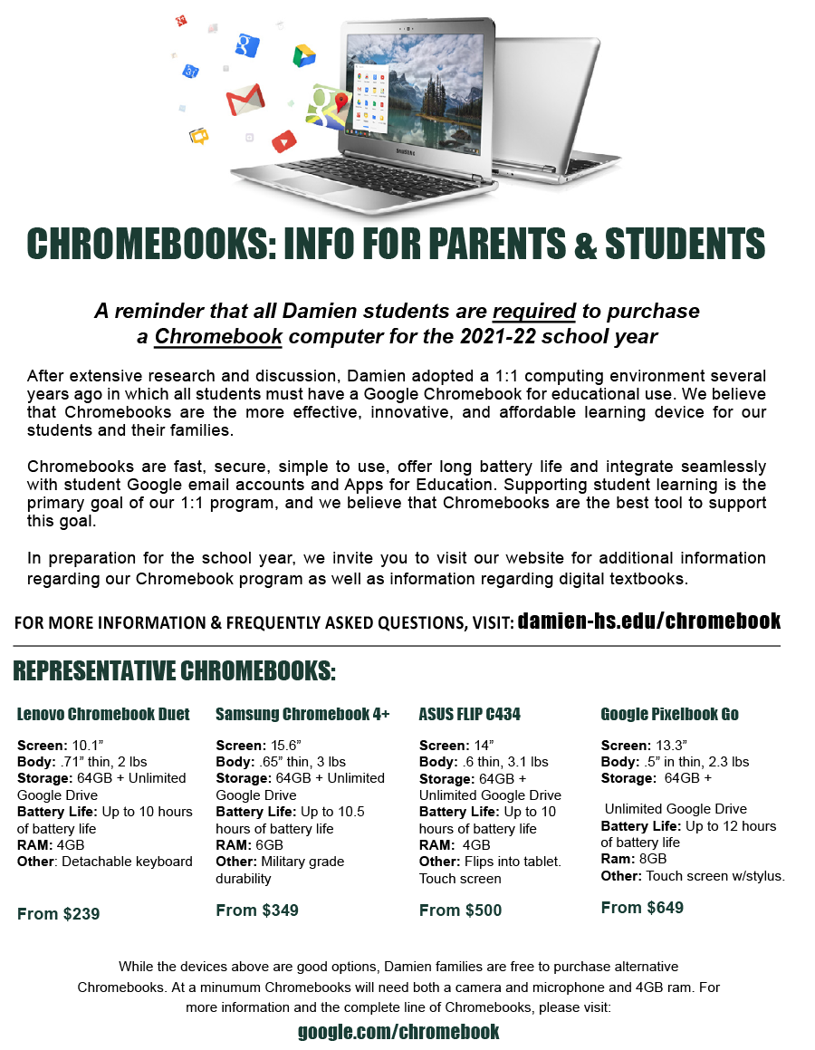Chromebook Flier