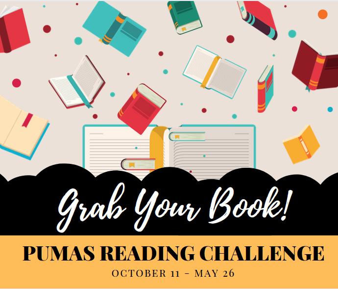 Pumas Read Challenge - Starts October 11 Featured Photo