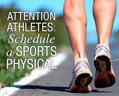 Sports Physical Reminder