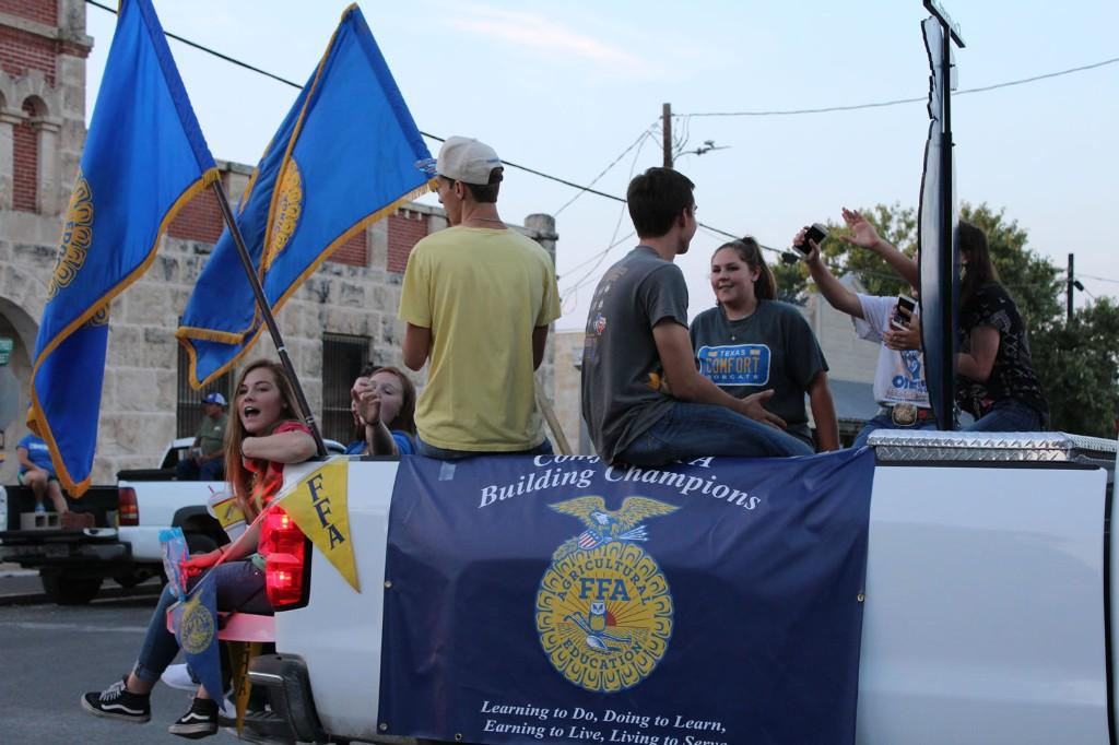 FFA Homecoming Parade