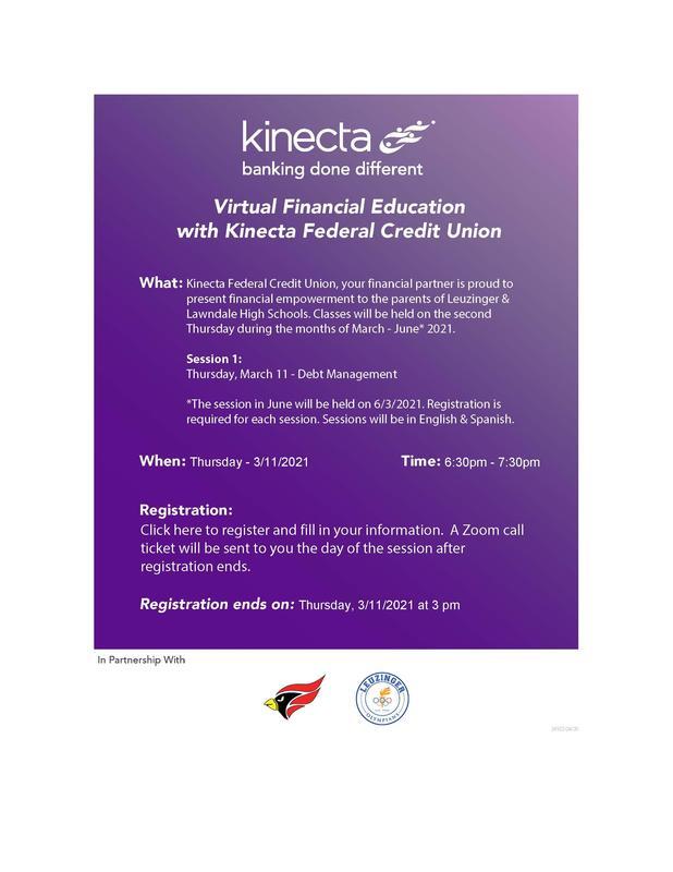 Kinecta Parent Workshop