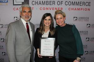 Emily solis graduates from the Leadership Lubbock program