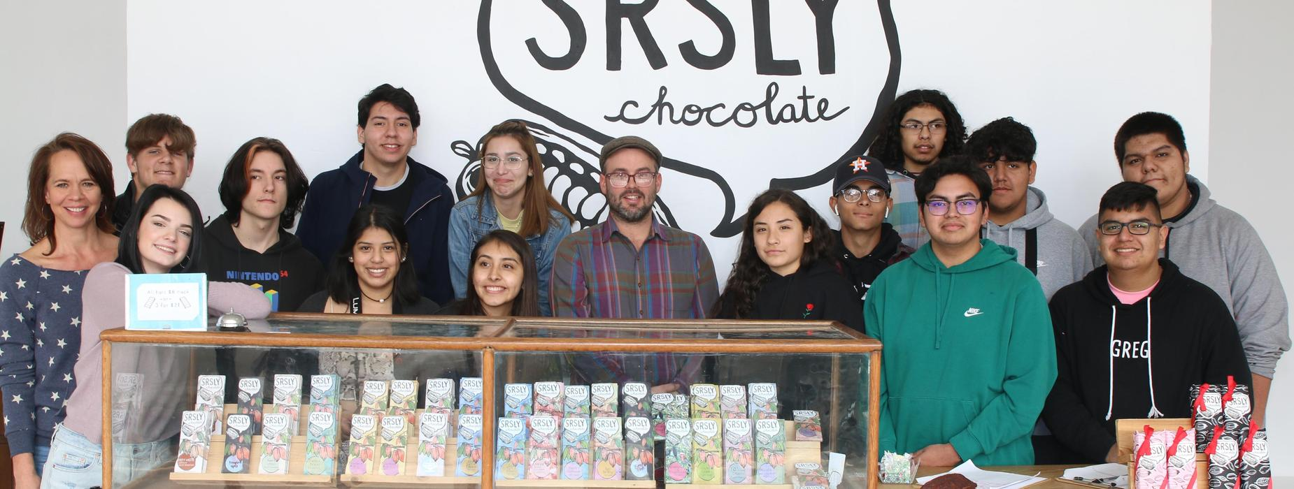 Field Trip to SRSLY Chocolate