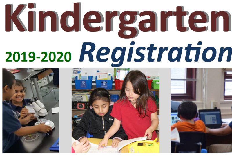 Kindergarten OPEN REGISTRATION at your local neighborhood school: April 2019 Thumbnail Image