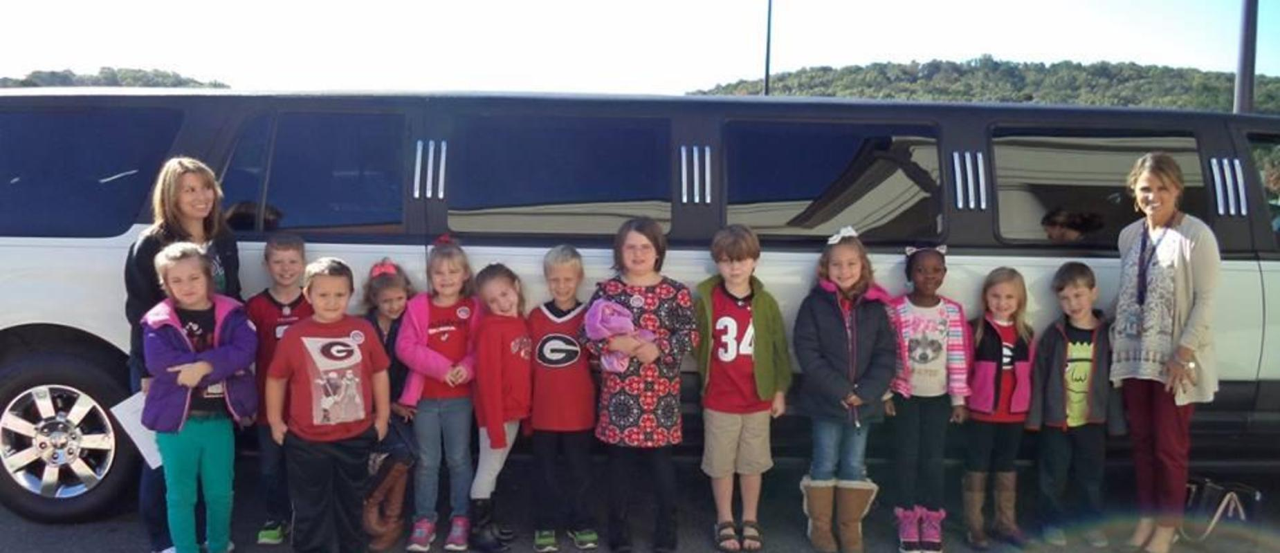 Fundraiser limo Ride
