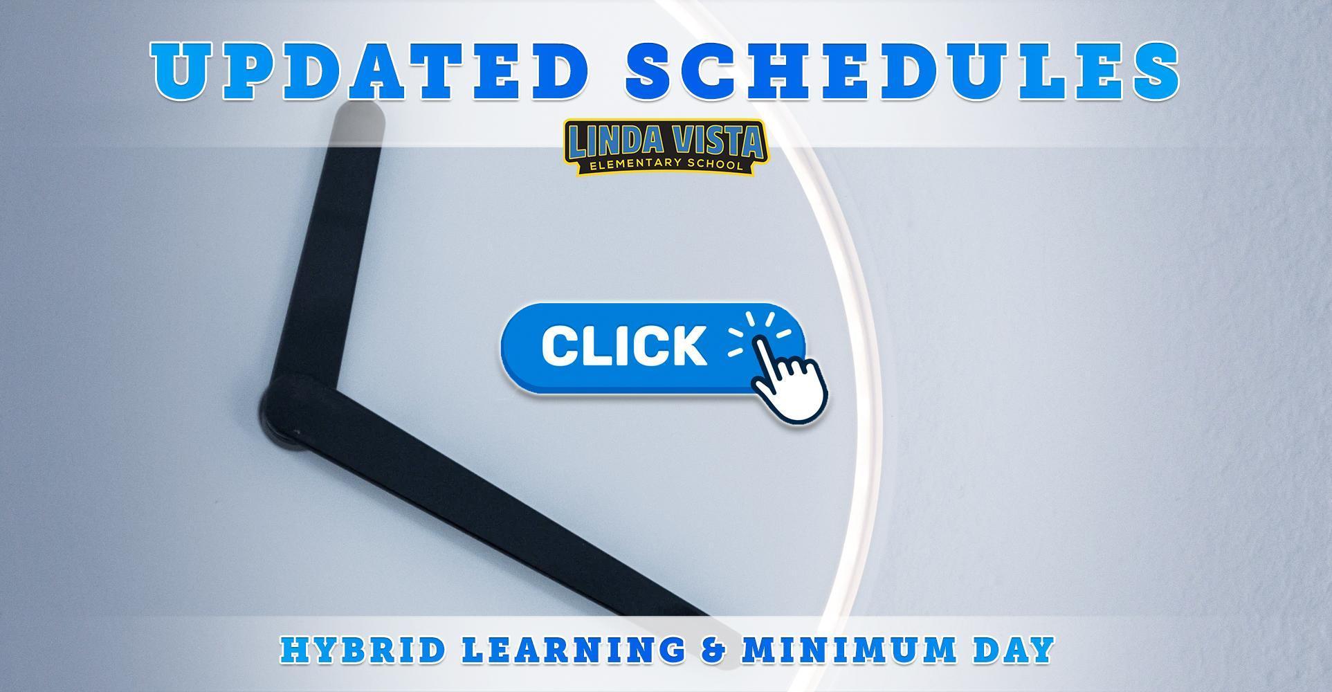 Hybrid Learning & Minimum Day School Schedules