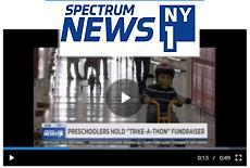 2021 NYISE Readiness St. Jude's Trike-a-Thon on NY1