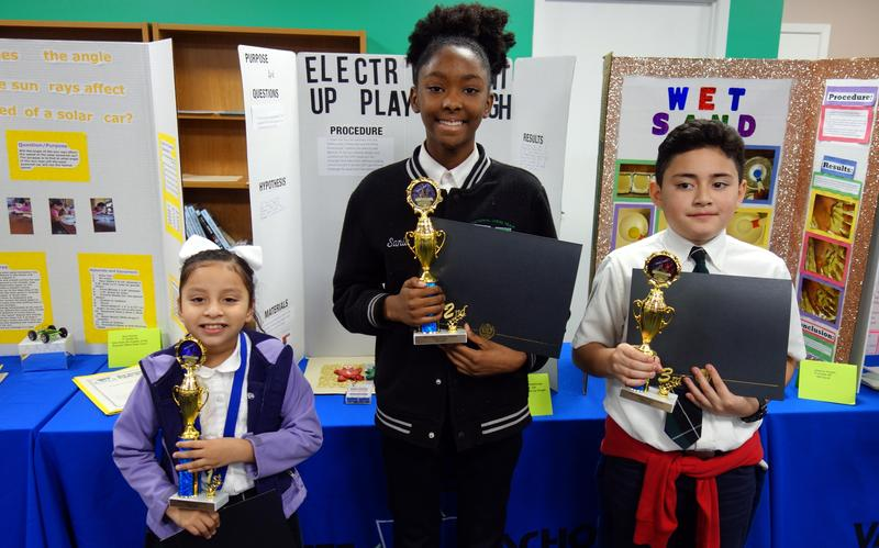 East campus student wins top trophy in first districtwide science fair Featured Photo