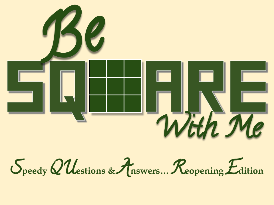 Be Square With Me Logo