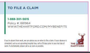 How to file a claim - Hartford