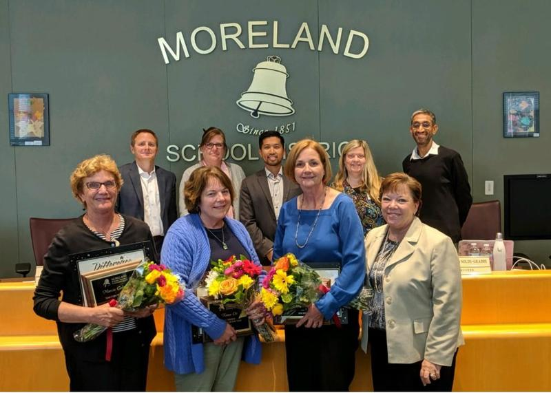 Moreland's Annual People of the Year Celebration Honors Teachers, Classified Staff & Volunteers Thumbnail Image