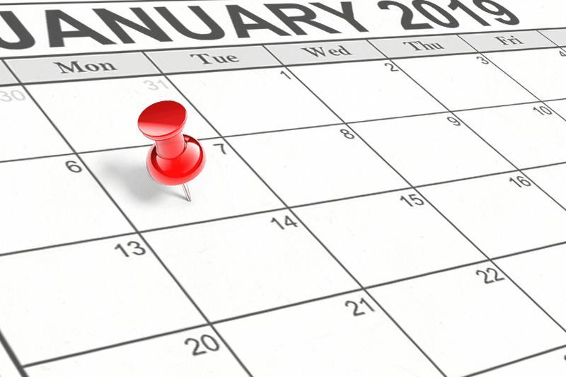School Resumes January 7, 2019 Featured Photo
