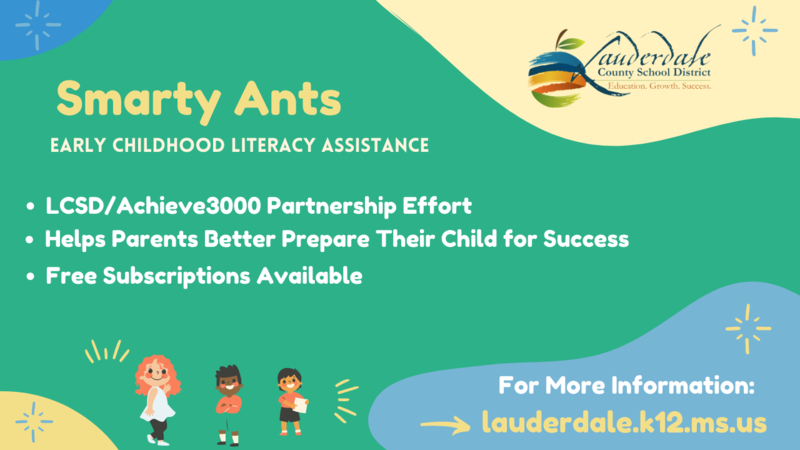 Smarty Ants: Free Early Childhood Literacy Initiative Graphic
